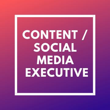 Content Cum Social Media Exe